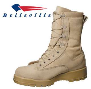 775 BELLEVILLE TAN INSULATED GORETEX LINED COMBAT BOOTS US ARMY