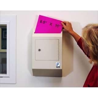 PROTEX Drop Box Safe Wall Mount Tubular Key WDB 110