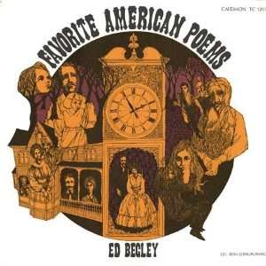 Ed Begley   Favorite American Poems LP Ed Begley Music