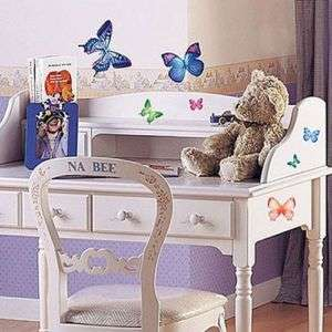 PS 58004 BUTTERFLY ADHESIVE WALL DECOR MURAL STICKER