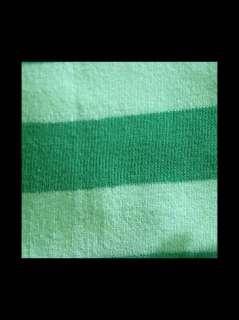 Lolita Mermaid Elf Emerald Green Stripe KNEE HIGH SOCKS