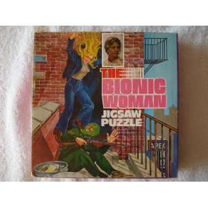 1977 The Bionic Woman Lindsay Wagner 121 Pieces Jigsaw