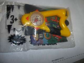 Sonic Kids Meal Toy Wacky Camp Clips Yellow Clip On 08