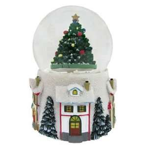 Medium Tree Snow Globe Christmas Ornament