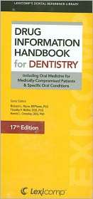 Drug Information Handbook for Dentistry, (1591952964), Richard L. Wynn