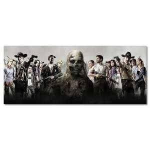 The Walking Dead TV Zombie Wall Silk Poster 36×15