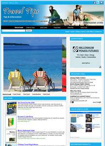 Money Making Affiliate Website Travel Guide Business