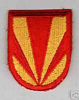 AIRBORNE BERET FLASH 4th AIR DEFENSE ARTILLERY 3rd BN