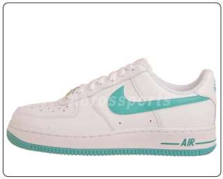 Nike Wmns Air Force 1 07 White Mineral Blue Womens Casual Shoes 315115