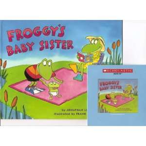 Froggys Baby Sister Book and Audio CD Set (Paperback