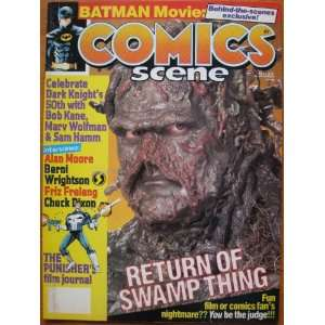 Comics Scene #7, July 1989. Alan Moore: Starlog Communications: Books