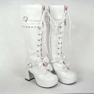 womens Japan lolita punk visual kei boots shoes rock