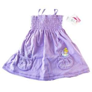 Disney Princess Cinderella Purple Summer Dress
