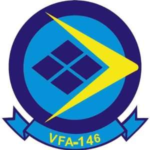 US Navy VFA 146 Blue Diamonds Squadron Decal Sticker 5.5