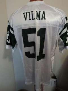 NFL Reebok New York Jets Jonathon Vilma Jersey NWT 2XL