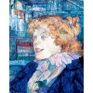 Portrait Henri Toulouse Lautrec   Original Color Print