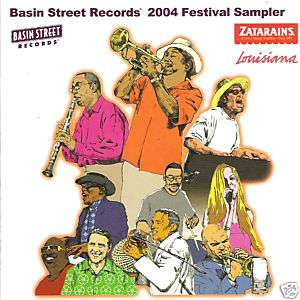 BASIN STREET RECORDS 2004 FESTIVAL SAMPLER (VARIOUS ARTIST) CD