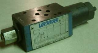 Sperry Vickers DGMX1 3 PA 8W 20 S Reducing Solenoid Valve