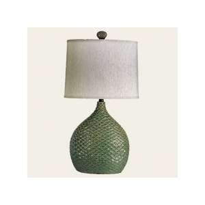 Harris Marcus Home H75838P1 Leaf Green Newman Table Lamps