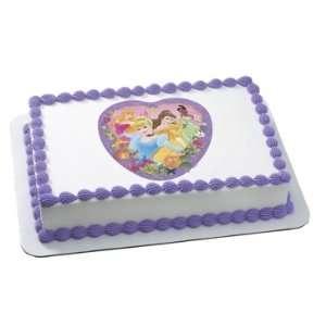 Disney Princesses Edible Cake Image Toys & Games