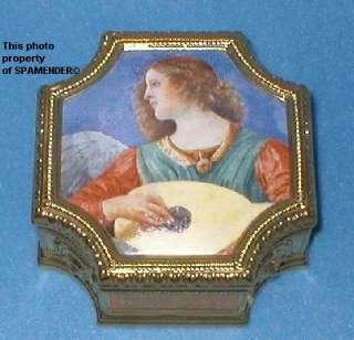 Franklin Mint VATICAN ANGEL MUSIC BOX / TRINKET BOX