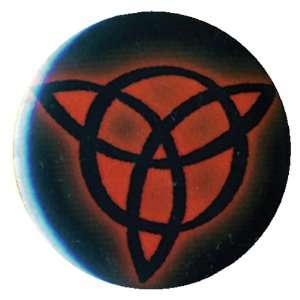 Led Zeppelin   Trinity Symbol Button Magnet