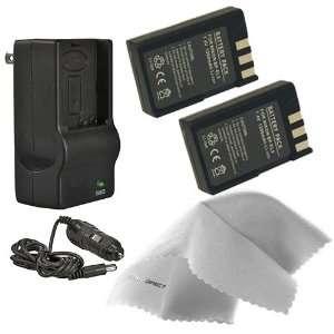 Nikon D3000 High Capacity Intelligent Batteries (2 Units