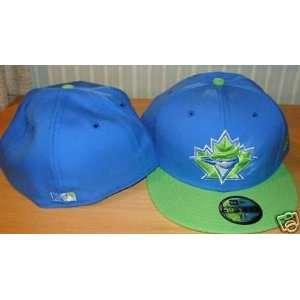 Toronto Blue Jays New Era Cap Hat Lime Custom 7 3/4   Men