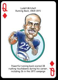 Penn State Nittany Lions NCAA Football Playing Poker Cards Fans Hero