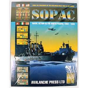Avalanche Press SOPAC Naval Action in the South Pacific