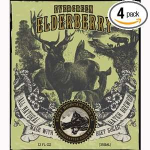 Evergreen Elderberry, Flavored with Natural Beet Sugar by the Rock