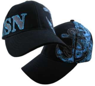 USN US NAVY COTTON ANCHOR SKULL BONES HAT BALL CAP