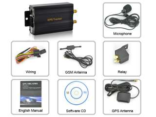 G204 GPS Car Tracker for global vehicle tracking