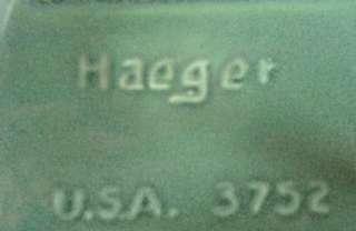 Haeger USA # 3752 Pottery Bowl Tray Planter Green