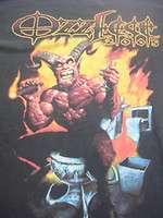 BLACK SABBATH OZZY OSBOURNE ENGLAND ROCK BAND TOUR SHIRT