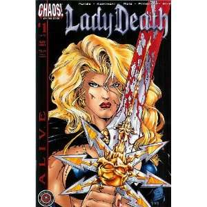 Lady Death Alive (Alive): ivan reis: Books