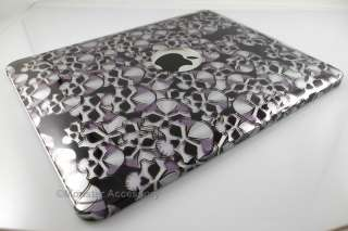 the apple ipad skulls design hard cover case provides