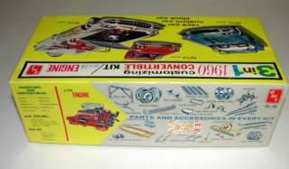 UNBUILT AMT 1960 FORD THUNDERBIRD CONVERTIBLE FACTORY SEALED ORIGINAL