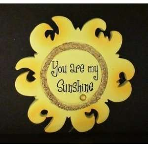 You Are My Sunshine Personalized Gift Tag with Magnet