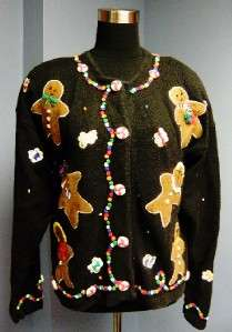 WOW! CANDYLAND~GINGERBREAD MAN Theme UGLY/TACKY Christmas Contest