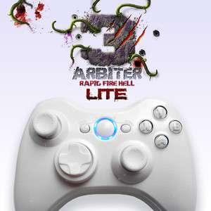 Arbiter 3 LiTE Rapid Fire Hell Xbox 360 Wireless Controller (White