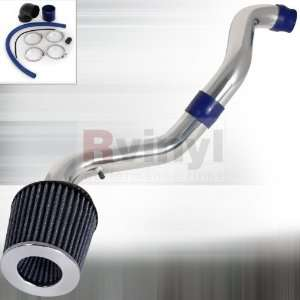 2001 Cold Air Ram Intake System with Turbine Blade Filter Automotive