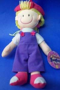 Fashion Bright girls PLUSH DOLL Pink/Purple