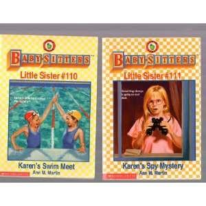 Swim Meet / #111 Karens Spy Mystery Ann M. Martin  Books