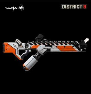 District 9 Assault Rifle 11 Scale Official Movie Prop Replica Weta