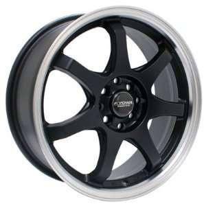 17 x 7 Kyowa Racing KR627 (Painted/Hyper Black) Wheels
