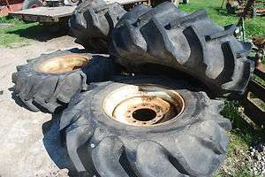 26 GOODYEAR R 2 COMBINE TRACTOR SWAMP BUGGY MUD TRUCK TIRES