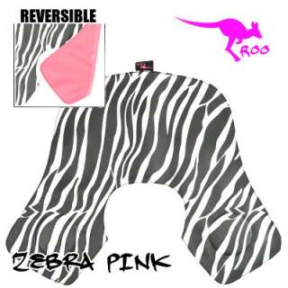 Roo Salon Hairdressing Cutting Collar   Zebra and Pink