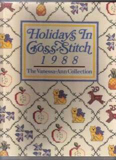 VANESSA ANN COLLECTION,X,Cross Stitch,Books,Your Choice