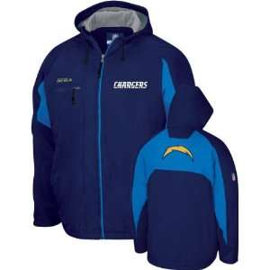 San Diego Chargers  Navy  2008 Shuttle Midweight Coaches Jacket